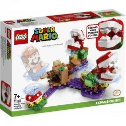 LEGO Super Mario Πίστα Επέκτασης Αινιγματική Πρόκληση Των Φυτών Πιράνχας (71382)