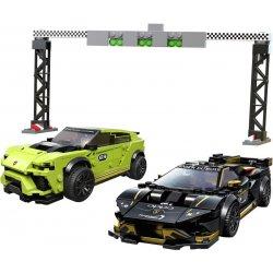 LEGO Speed Champions Lamborghini Urus ST-X & Lamborghini Huracan Super Trofeo EVO (76899)