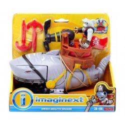 Imaginext Πειρατικό Πλοιάριο-Πλάσματα Βυθού MEGA MOUTH SHARK (DHH66)