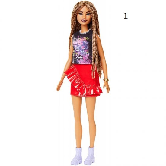 Νέες Barbie Fashionistas (FBR37)
