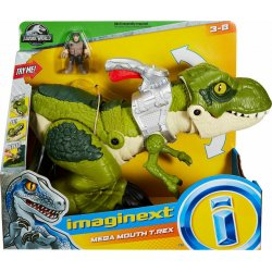 Fisher Price Imaginext Jurassic World Mega Mouth T.Rex (GBN14)