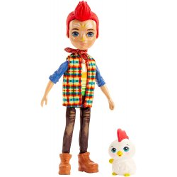 ENCHANTIMALS ΚΟΥΚΛΑ ΚΑΙ ΖΩΑΚΙ REDWARD ROOSTER AND CLUCK (GJX39)