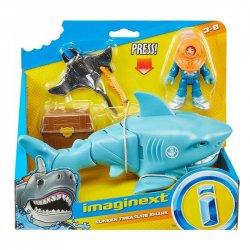 Fisher Price Imaginext Καρχαρίο-Όχημα Με Δύτη - 2 Σχέδια (GKG78)