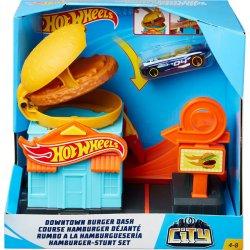 Hot Wheels Βασικές Πίστες City Downtown Burger Dash (GPD09)