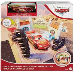 CARS ΣΕΤ ΠΑΙΧΝΙΔΙΟΥ LUIGI'S TIRE SHOP (GTK83)