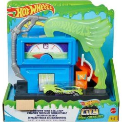 Hot Wheels Βασικές Πίστες City  Downtown Toxic Fuel Shop (GYP37)