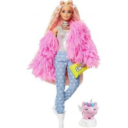 Barbie Extra Fluffy Pink Jacket (GRN28)