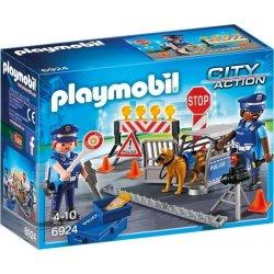 PLAYMOBIL Οδόφραγμα Αστυνομίας (6924)