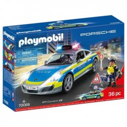 Playmobil Porsche 911 Carrera 4S Αστυνομικό Όχημα(70066)