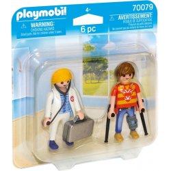 Playmobil Γιατρός & Ασθενής (70079)