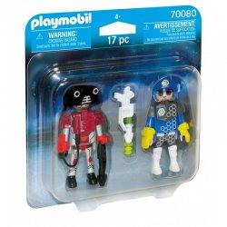 Playmobil Αστυνόμος Διαστήματος Και Κακοποιός (70080)