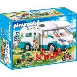 Playmobil  Αυτοκινούμενο Οικογενειακό Τροχόσπιτο (70088)