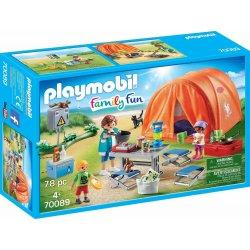 Playmobil Οικογενειακή Σκηνή Camping (70089)