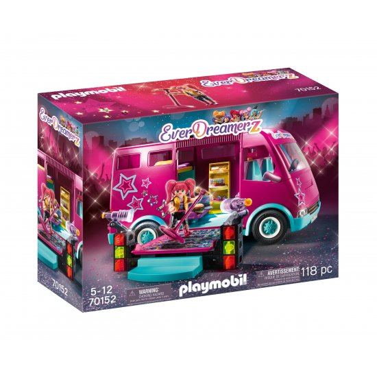 PLAYMOBIL Tourbus Music World (70152)