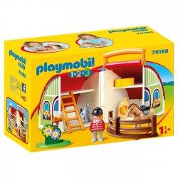 PLAYMOBIL ΑΧΥΡΩΝΑΣ-ΒΑΛΙΤΣΑΚΙ (70180)