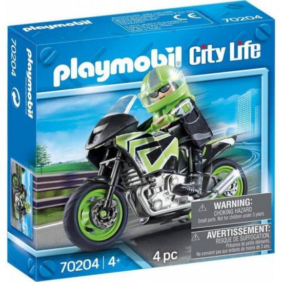 Playmobil Μοτοσικλετιστής(70204 )