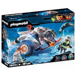 PLAYMOBIL Snow Glider της Spy Team (70231)