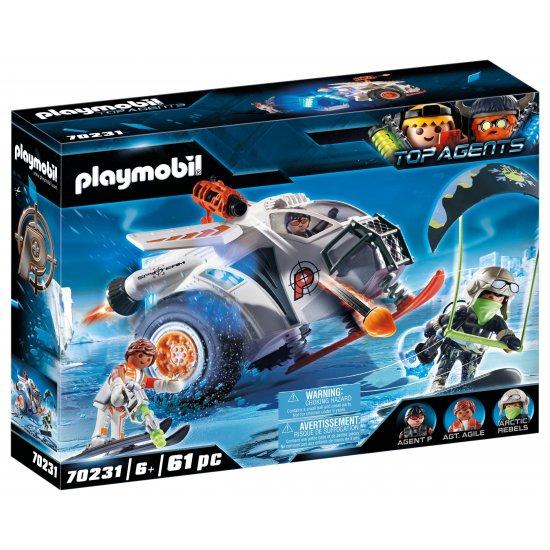 PLAYMOBIL Snow Glider της Spy Team (70231)