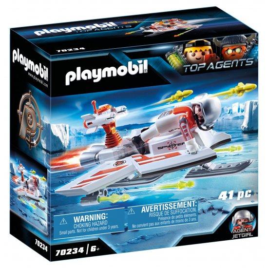 PLAYMOBIL Ice Jet της Spy Team (70234)