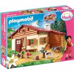 Playmobil Χάιντι Με Τον Παππού Στην Καλύβα(70253)