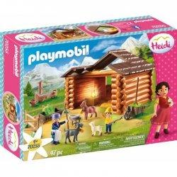 Playmobil Πέτερ Και Γιαγιά Στη Στάνη Με Τις Κατσικούλες Του(70255)