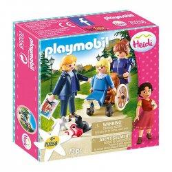 Playmobil Κλάρα Πατέρας Κι Δεσποινίς Ροτενμάιερ(70258)