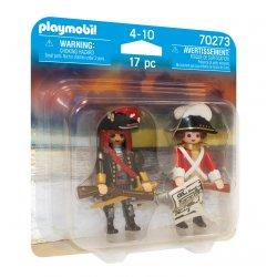 PLAYMOBIL Πειρατής και Λιμενοφύλακας (70273)