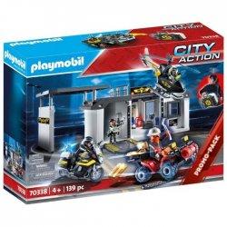 Playmobil Αρχηγείο Ομάδας Ειδικών Αποστολών(70338)