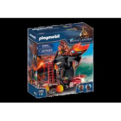PLAYMOBIL Πολιορκητική μηχανή φωτιάς του Μπέρναμ (70393)