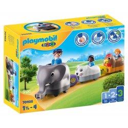 PLAYMOBIL Τρενάκι με βαγόνια-ζωάκια (70405)