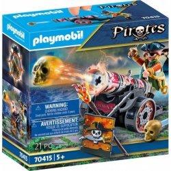 Playmobil Πειρατής Με Κανόνι(70415)