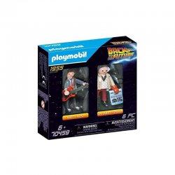 Playmobil Back To The Future Μάρτι Μακ Φλάι Και Καθηγητής Έμετ Μπράουν (70459)