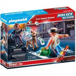 Playmobil Police Action Κλέφτης Και Άστυνομος (70461)