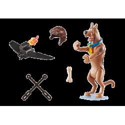 """PLAYMOBIL Συλλεκτική φιγούρα Scooby """"Πιλότος"""" (70711)"""