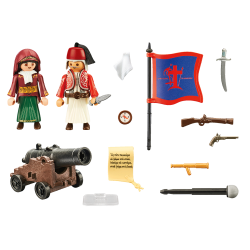 PLAYMOBIL Play & Give Οι ήρωες του 1821 (70761)