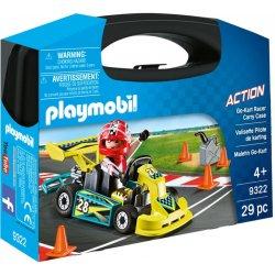 Playmobil Βαλιτσάκι Go-Kart (9322)