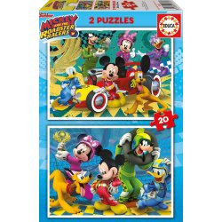 EDUCA ΠΑΖΛ 2Χ20 ΤΕΜ. MICKEY ROADSTER RACERS (17631)