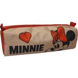 Κασετίνα Βαρελάκι Minnie Suede (340-47140)