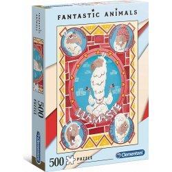 ΠΑΖΛ CLEMENTONI 500 H.Q. Fantastic Animals Llamaste (1260-35069)