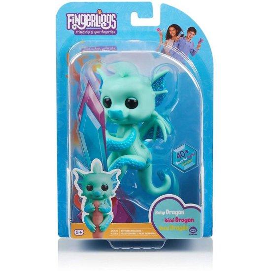 WowWee Fingerlings Baby Dragon-4 Σχέδια (3580)