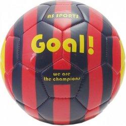 Μπάλα Δερμάτινη Ποδοσφαίρου Color Rings We Are The Champions - Μαύρο-Κόκκινη (5001-15979)