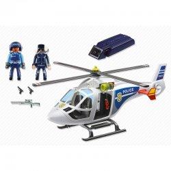 PLAYMOBIL Ελικόπτερο Αστυνομίας με προβολέα LED (6921)