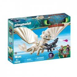 Playmobil Η Λευκή Οργή Κι Ένας Δρακούλης Με Τα Παιδιά (70038)