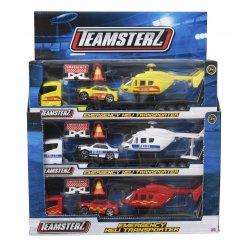 Teamsterz Οχήματα Διάσωσης Emergency Heli Transporter - 3 Σχέδια (7535-73618)