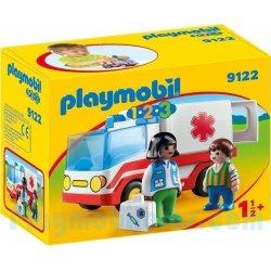 Playmobil 1.2.3. Γιατρός και ασθενοφόρο (9122)