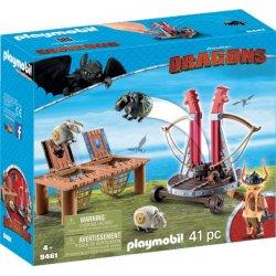Playmobil Ο Σκόρδος Με Καταπέλτη Προβάτων (9461)