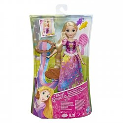 DISNEY PRINCESS ΚΟΥΚΛΑ RAINBOW HAIR RAPUNZEL (E4646)
