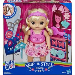 BABY ALIVE SNIP N' STYLE (E5241)