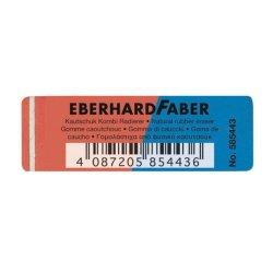 Γόμα Eberhard Faber μπλε-κόκκινη (EF5854-43)