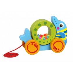 Tooky Toy Συρόμενο Δελφίνι (TKE013)